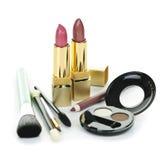 化妆用品构成 库存照片