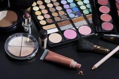 化妆用品构成 库存图片