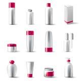 化妆用品程序包 向量例证