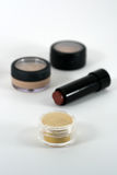 化妆用品组成产品专业质量 免版税图库摄影