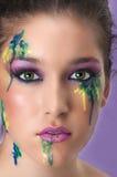 化妆用品组成 免版税图库摄影