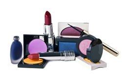 化妆用品组 免版税图库摄影
