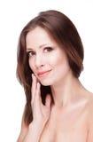化妆用品表面皮肤 库存图片