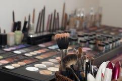化妆用品设置了 图库摄影
