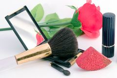 化妆用品 免版税库存照片