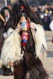 化妆舞会比赛Surva国际节日在佩尔尼克 库存图片