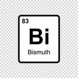 化学元素苍铅 库存例证