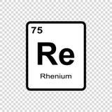 化学元素8 向量例证