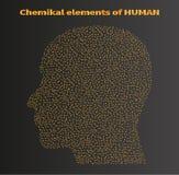 化学元素 免版税库存图片