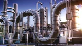 2011化学制品可以傲德萨工厂乌克兰 向量例证