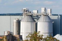 2011化学制品可以傲德萨工厂乌克兰 图库摄影