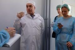 化学制品生物企业维塔米哈伊尔Borts的主任 免版税库存图片