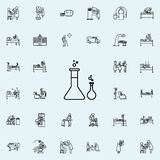 化学制品象 网和机动性的医院象全集 库存例证