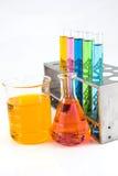 化学制品,科学,实验室,试管,实验室设备 库存图片