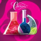 化学制品 库存例证