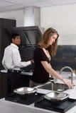 化学厨房 库存图片