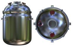 化学反应器 向量例证