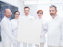 化学家实验室队 库存照片