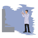 化学家 免版税库存图片