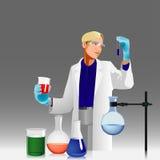 化学家 库存照片