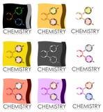 化学海报 免版税图库摄影
