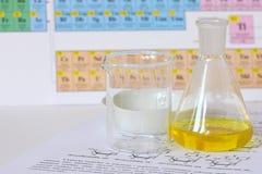 化学玻璃 库存照片