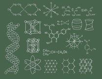 化学绿色物理向量 库存照片