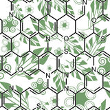 化学绿色 向量例证