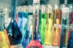 化学葡萄酒 免版税库存图片