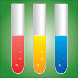 化学 库存例证