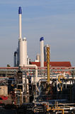 化工业工厂 库存照片