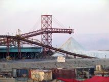 化工厂死海 库存照片