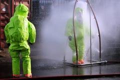 化工和生物战争 库存图片
