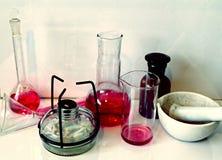 化工实验室照片 免版税库存照片