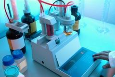 化工实验室 库存照片
