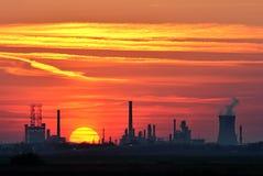 化工工厂油
