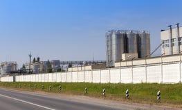 化工工厂 俄国 免版税库存照片