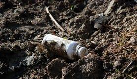 化工污染 免版税库存照片