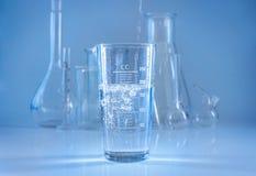 化工玻璃器皿 免版税图库摄影