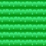 绿化被毒害的水下落无缝的传染媒介纹理或样式 库存图片