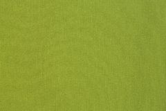 绿化布料纹理 免版税库存照片