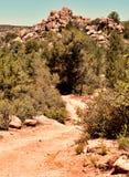 北亚利桑那地形 库存照片