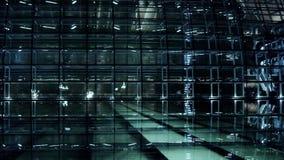 北京中国国家大剧院反射在湖水中在晚上晚上 股票视频