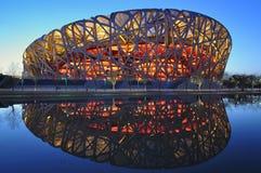 北京中国国民体育场 免版税库存图片