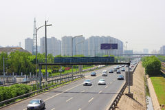 北京交通 免版税库存照片