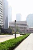 北京企业dictrict 免版税库存图片