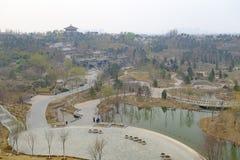 北京商展公园 免版税图库摄影