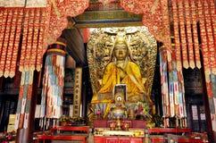 北京喇嘛寺庙 免版税库存照片