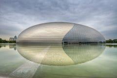 北京国家戏院 免版税库存图片