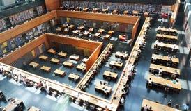 北京国立图书馆中国 库存图片